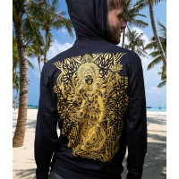 KALI Unisex Psy Cotton Pullover Hoodie.