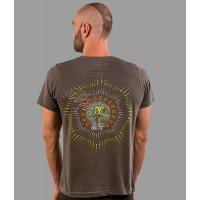NATARAJA UV Glow Psy Men's Cotton T-Shirt